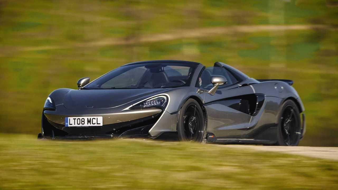 Der McLaren 600LT Spider im Test