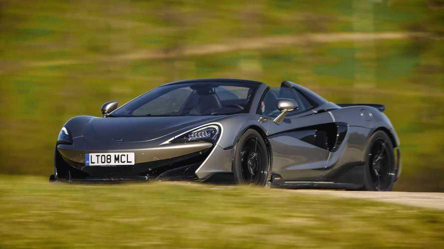 McLaren 600LT Spider (2021) im Test