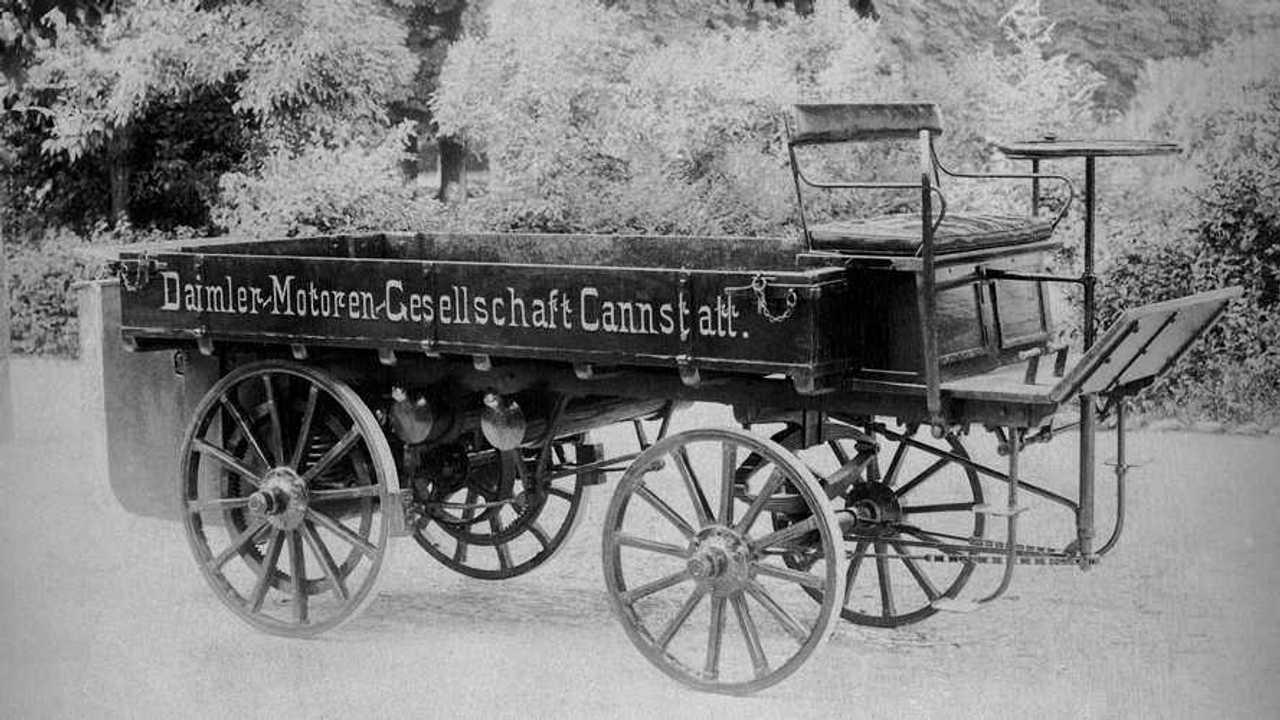 Daimler's first truck