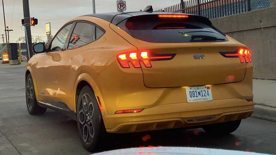 Someone Spotted The Ford Mach-E GT In Traffic