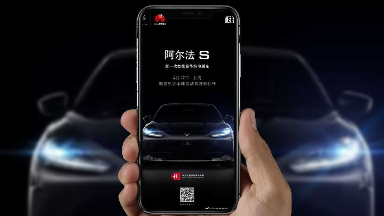 Auto elettrica Huawei