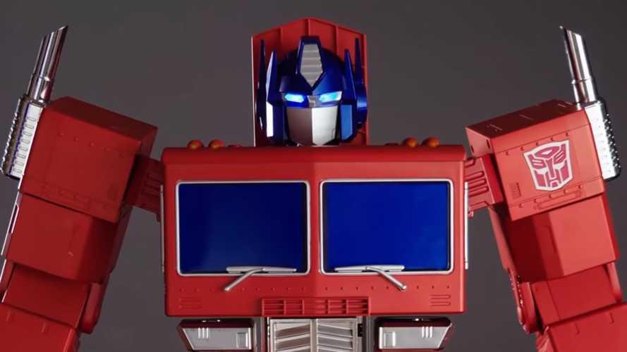 Mainan Optimus Prime Canggih, Transformasi Sendiri dan Bersuara