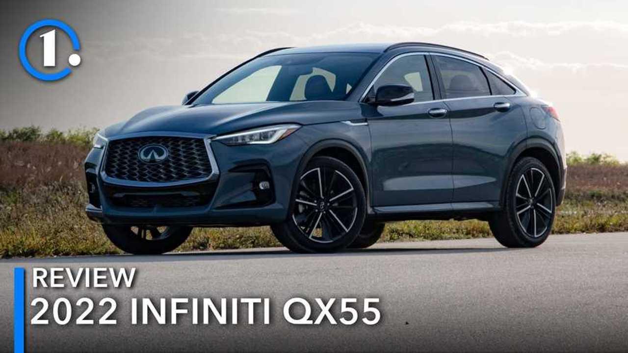 2022 Infiniti QX55 Review