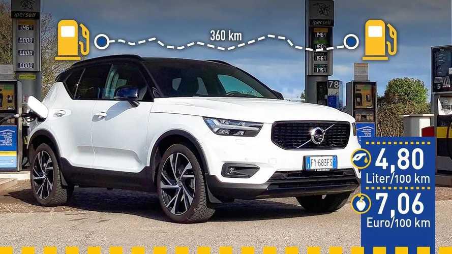 Tatsächlicher Verbrauch: Volvo XC40 T5 Plug-in-Hybrid im Test