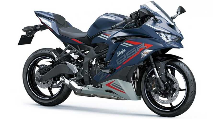 Kawasaki Launches Striking New Color For Ninja ZX-25R In Thailand