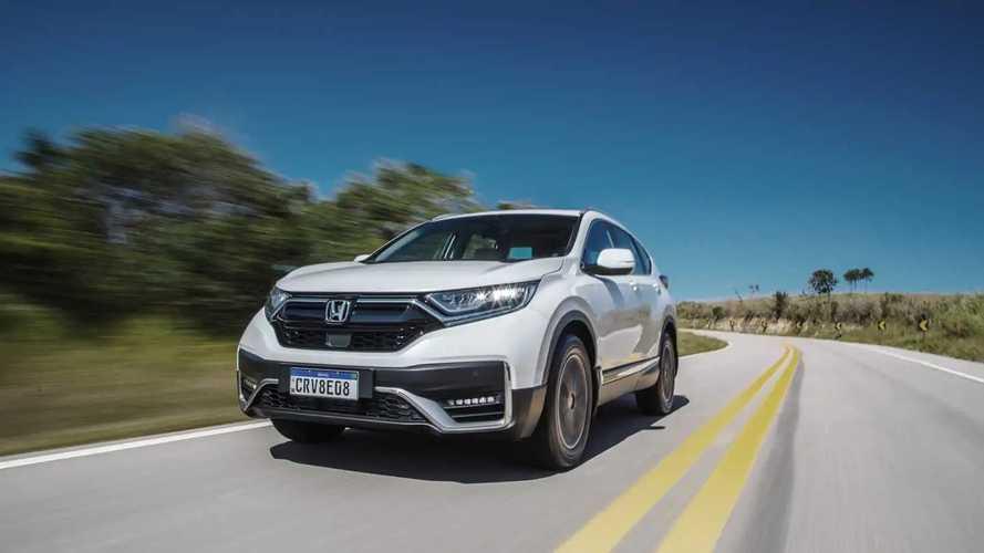 Primeiras impressões Honda CR-V 2021: enfim o Honda Sensing