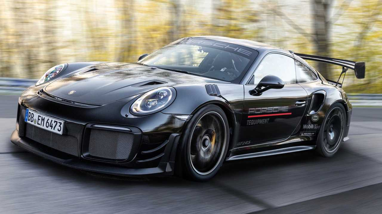 Porsche 911 GT3 RS Manthey Performance Kit Nurburgring Record