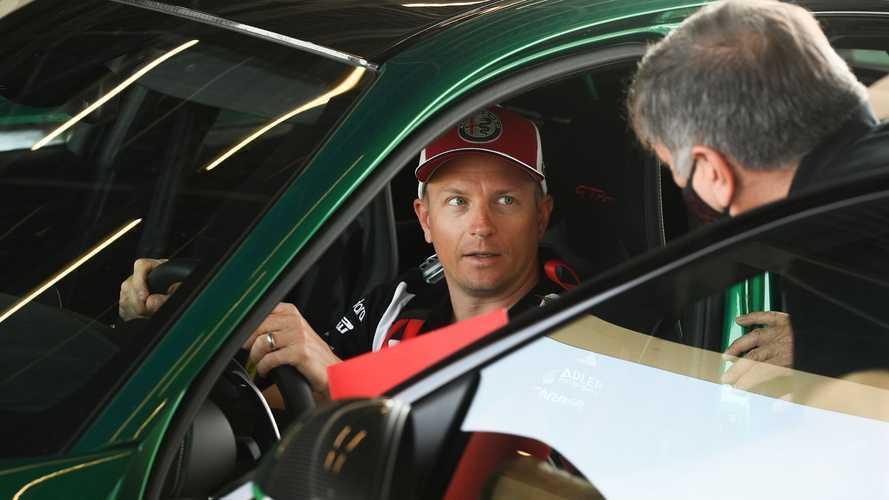 Kimi Räikkönen, en las pruebas del Alfa Romeo Giulia GTA