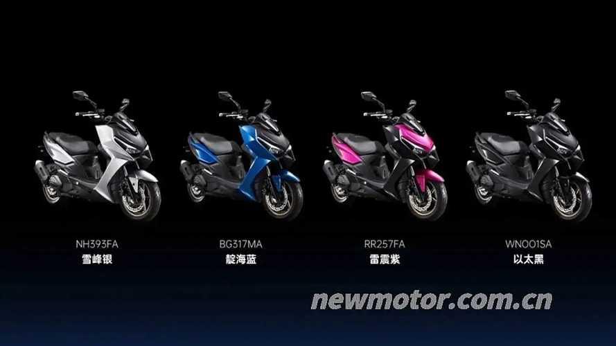 Kymco KRV 180 Maxi-Scooter Breaks Cover In Beijing Motor Show