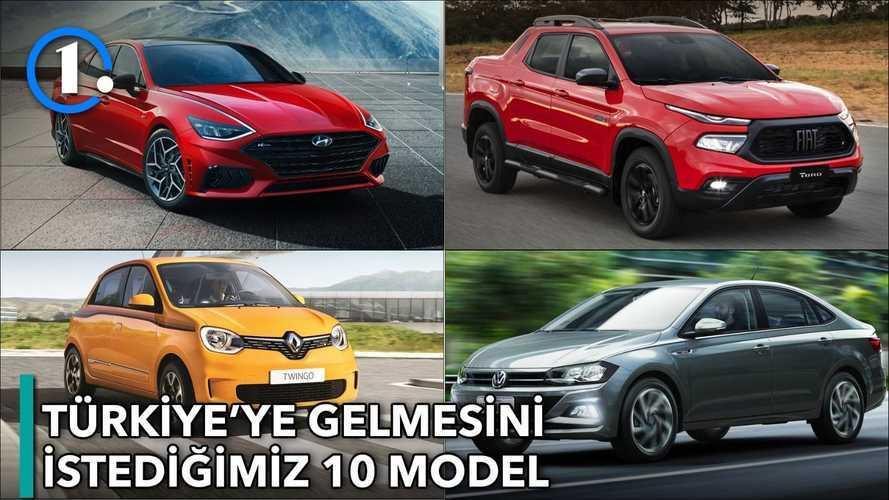 Türkiye'de görmek istediğimiz 10 Otomobil| Bilgin Olsun