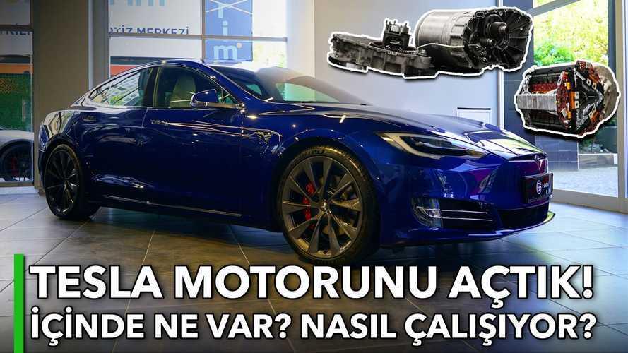 Tesla Motorunu Açtık! | İçinde Ne Var? | Nasıl Çalışıyor?