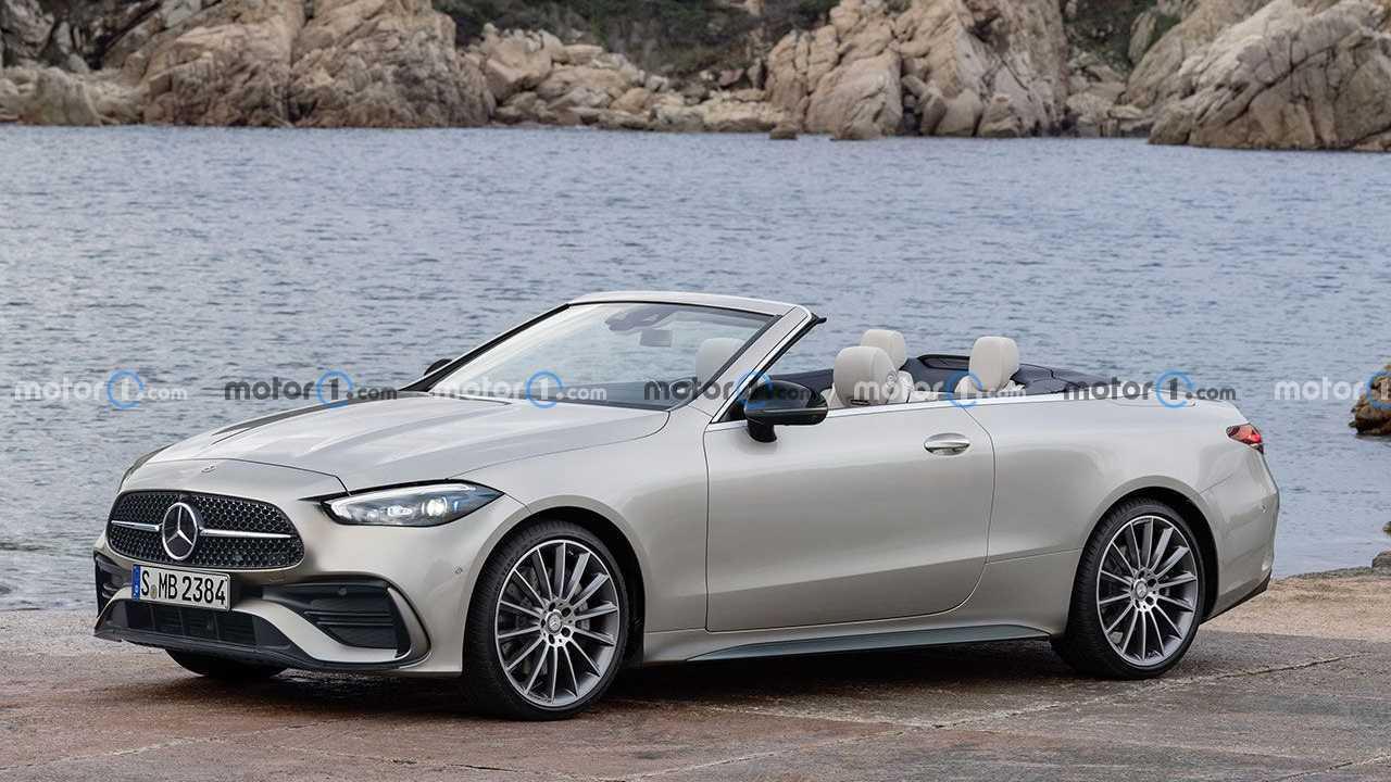 Рендер Mercedes-Benz CLE