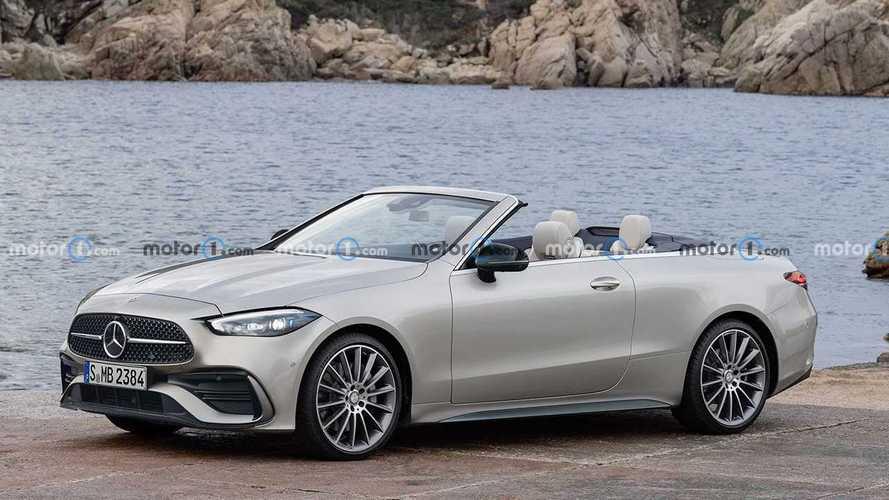 Mercedes CLE Coupe ve Convertible Render'ları