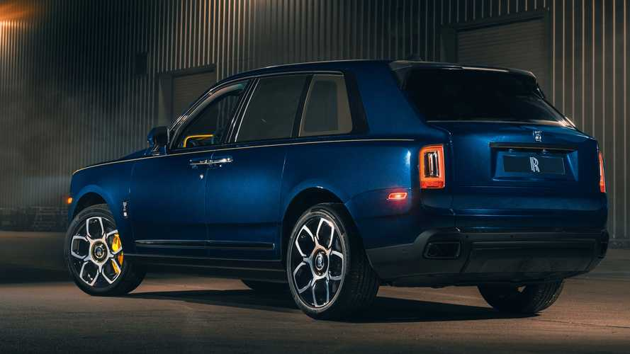Rolls-Royce Cullinan Black Badge, a medida para Ben Sloss