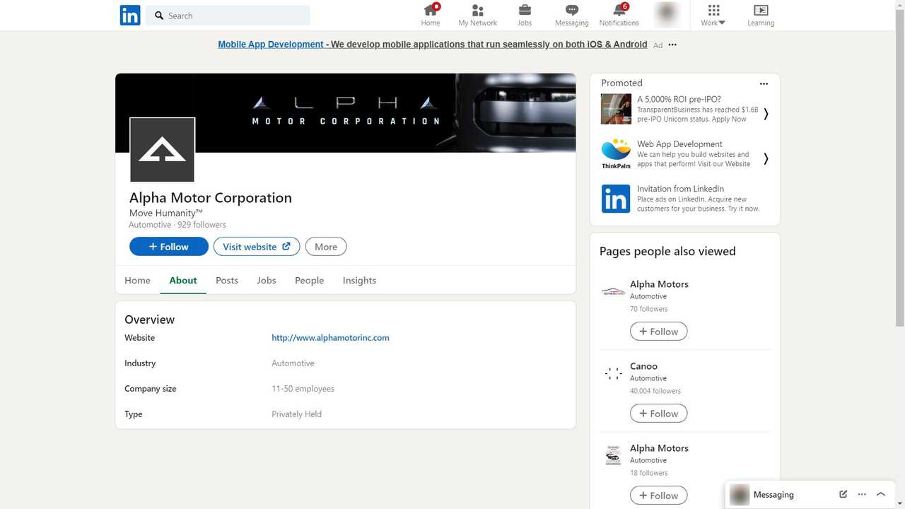 This Is All We Discovered So Far About Alpha Motor Corporation