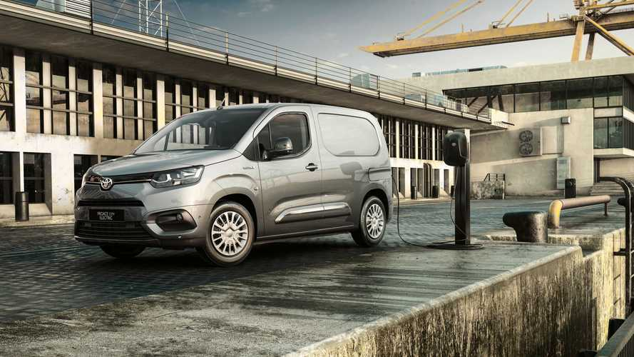 Toyota Proace City Electric, il quarto gemello a zero emissioni