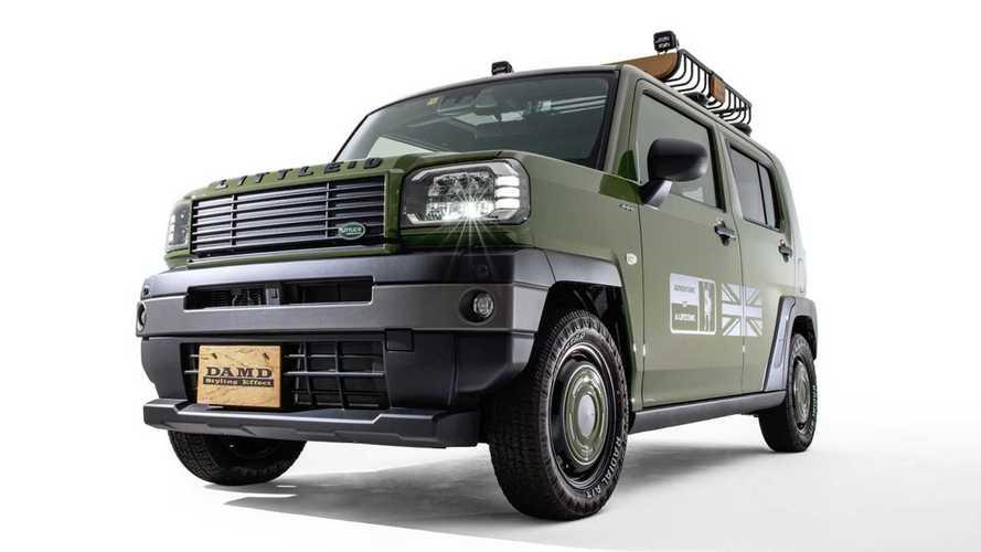 DAMD Daihatsu Taft Little D dan The 80's