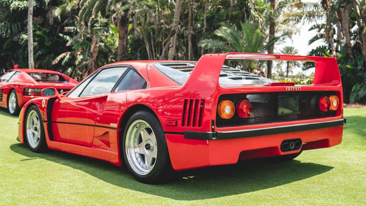 2021 Cavallino Classic - Ferrari F40