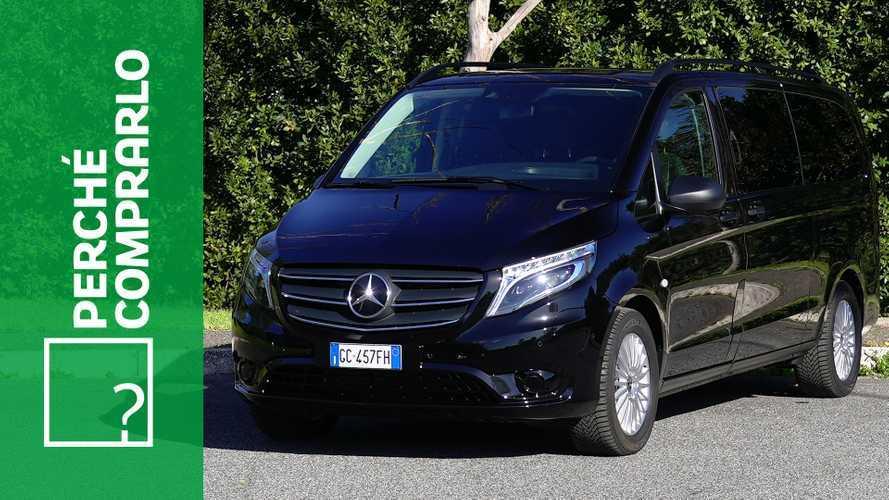 Mercedes-Benz eVito Tourer, perché comprarlo... e perché no