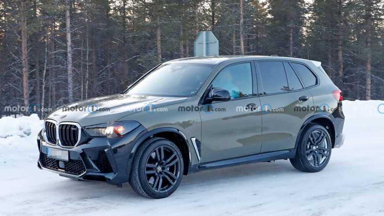 BMW X5 M makyaj casus fotoğraflar