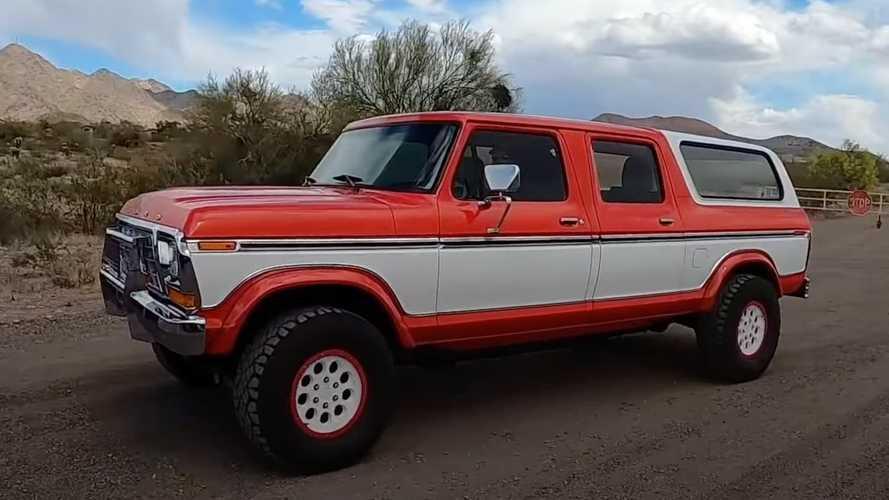 Ford Bronco 1979 Dilebur dengan Ford Raptor 2011, Hasilnya Keren