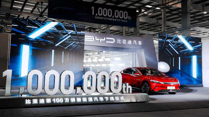 BYD Celebrates One-Millionth Plug-In Passenger Car Produced