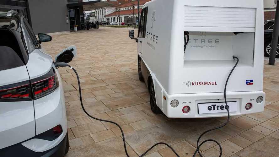eTree: Mobiler Ladeservice für Elektroautos soll 2022 starten