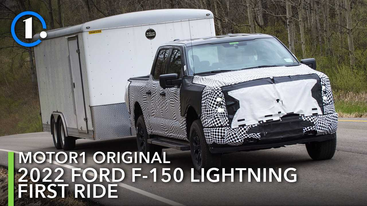 2022 Ford F-150 Lightning Prototype
