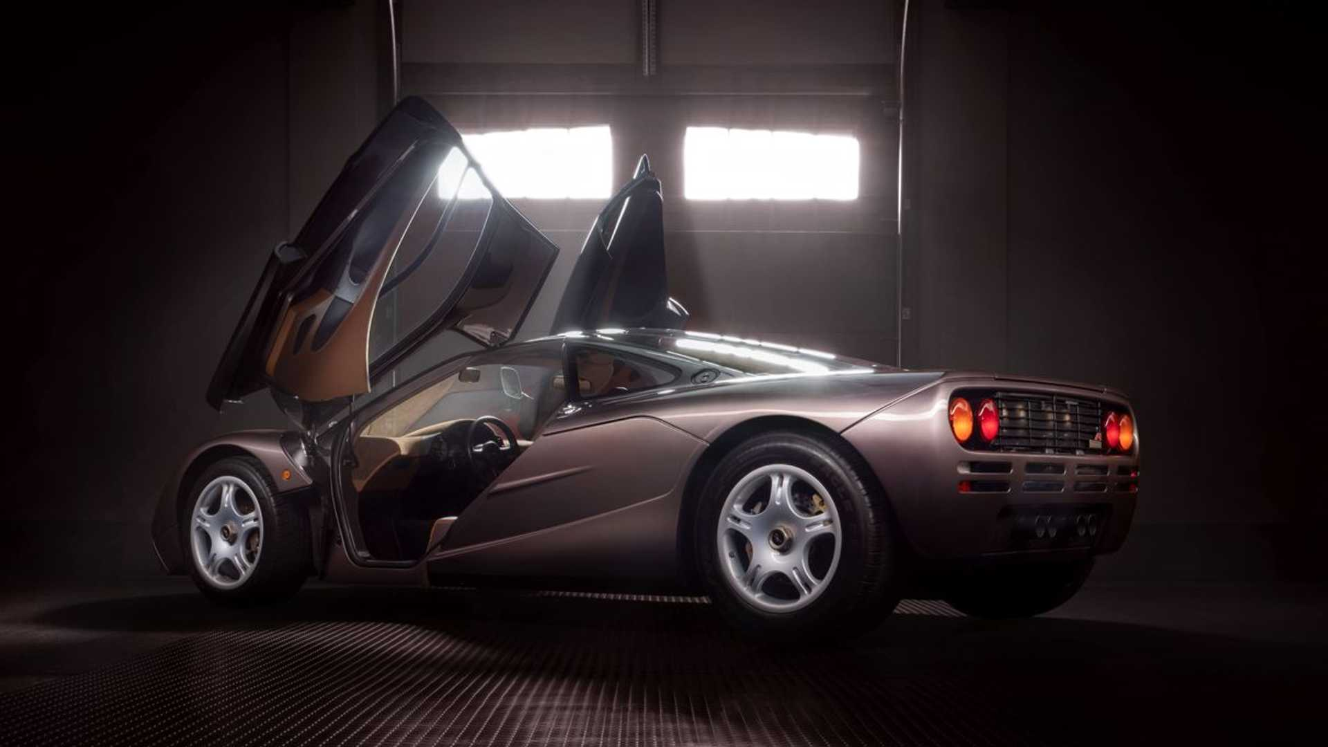 1995 McLaren F1 Gooding And Company Auction 2020 Rear Doors Open