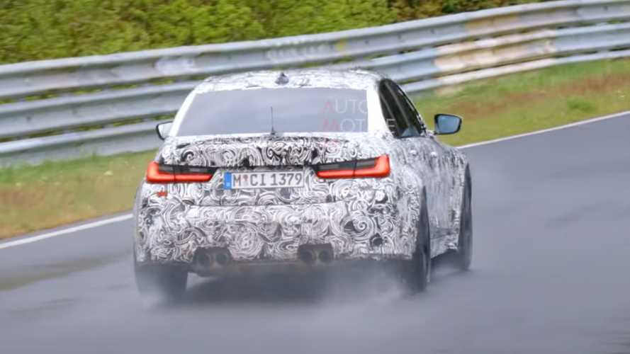 New BMW M3 CS spy video shows hotter M testing at the Nurburgring