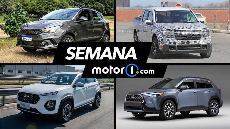 Semana Motor1.com: Ford Maverick, Fiat Pulse, Argo líder e mais