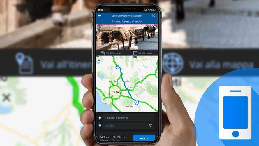 """Viaggi in auto con l'app My Way e """"Sei in un Paese meraviglioso"""""""