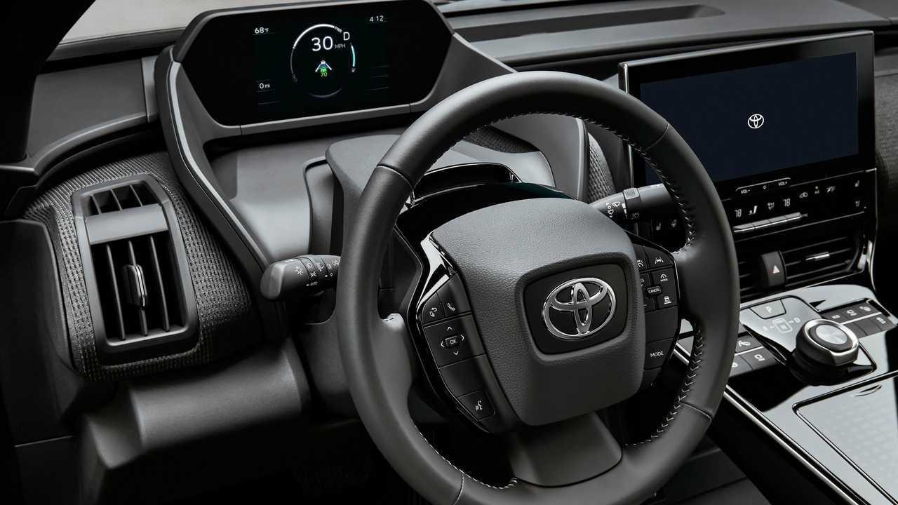 Toyota bZ4X BEV concept interior