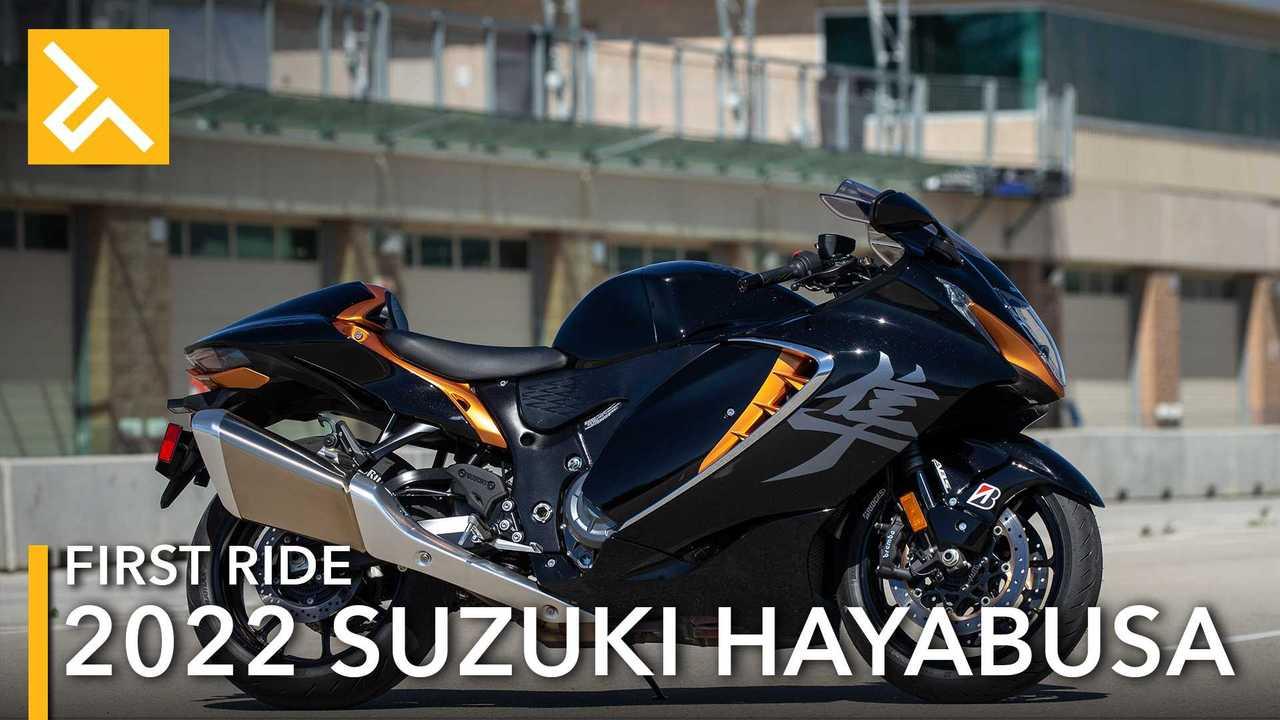 2022 Suzuki Hayabusa Feature Image