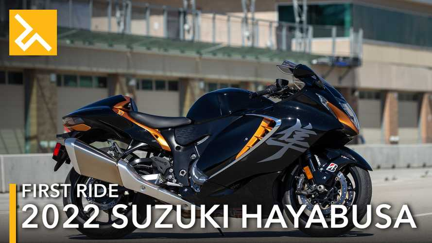 2022 Suzuki Hayabusa First Ride review