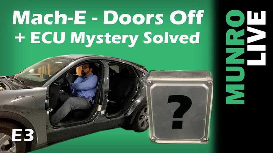 Ford Mach-E Teardown: No Doors Or Hood, But Still Drives