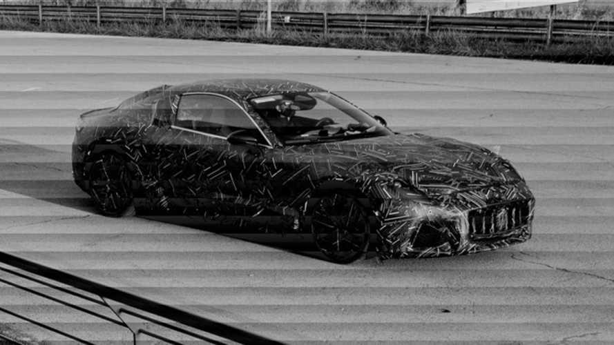 Тизеры нового Maserati GranTurismo