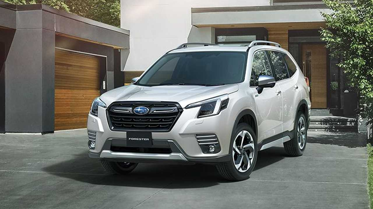 Subaru Forester restyling 2021