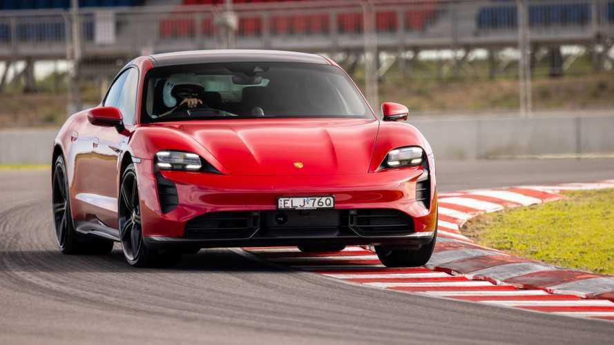 Porsche Taycan Turbo S'ten bir rekor daha geldi!
