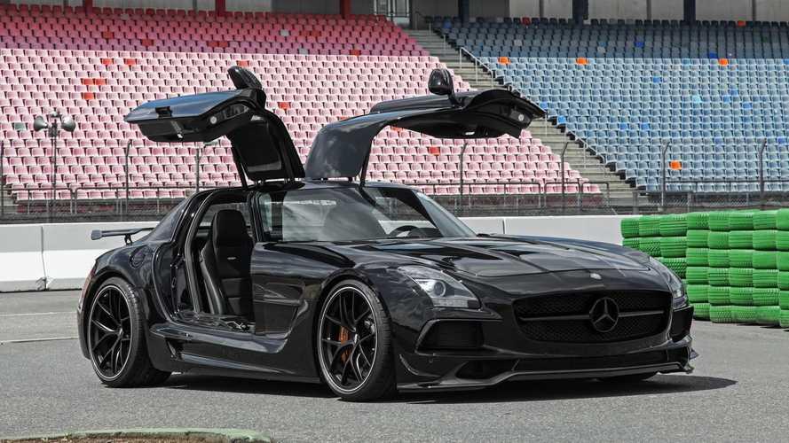 La Mercedes SLS AMG revue et corrigée par Inden Design