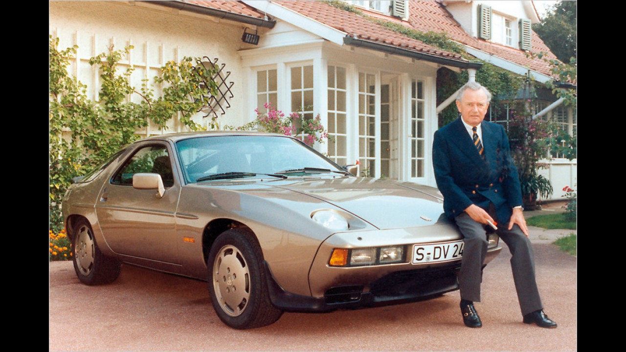 Herr Porsche und sein 928