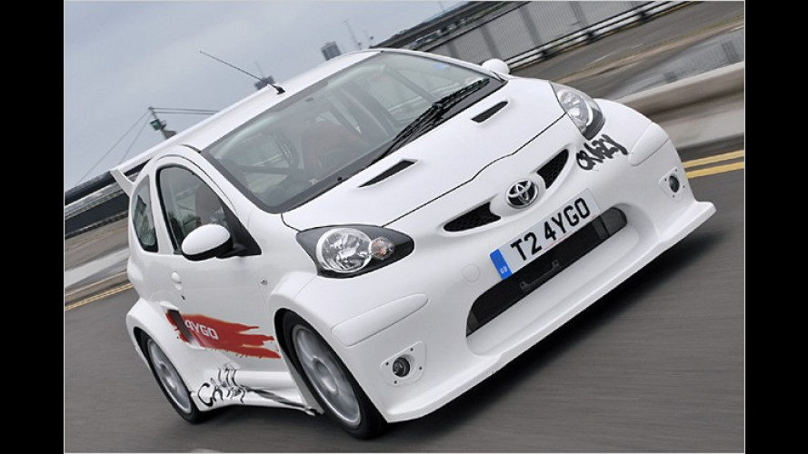 Der verrückte Power-Gnom: Toyota Aygo Crazy