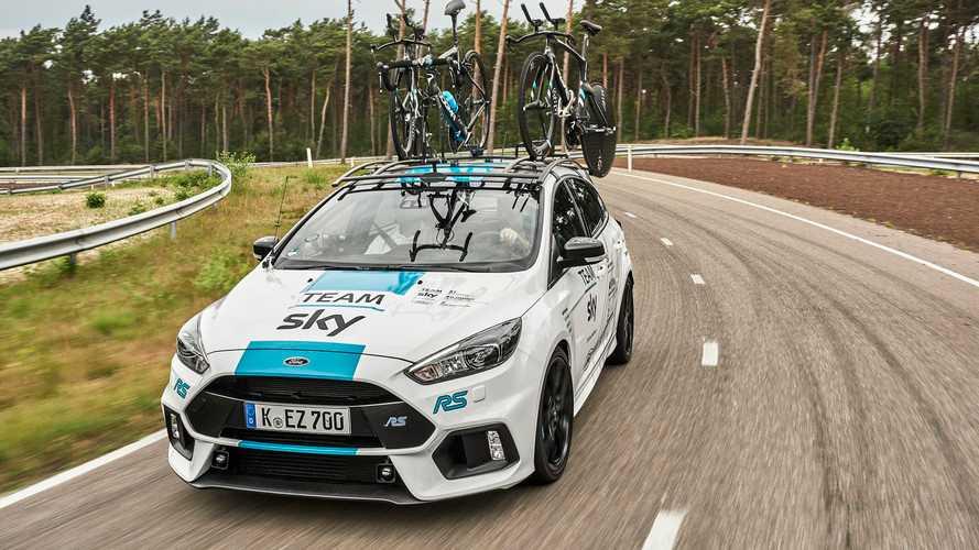 VIDÉO - Une Ford Focus RS pour la Sky au Tour de France