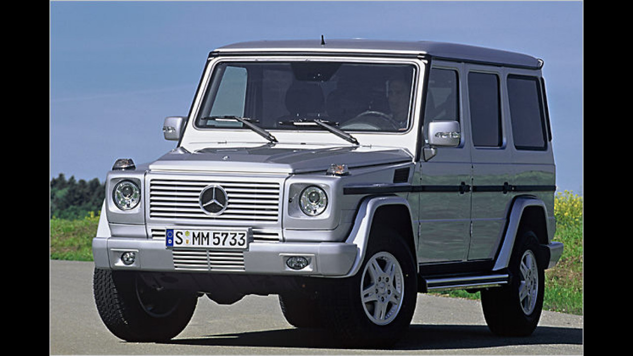 Angebot: Mercedes G 500 Stationwagen lang