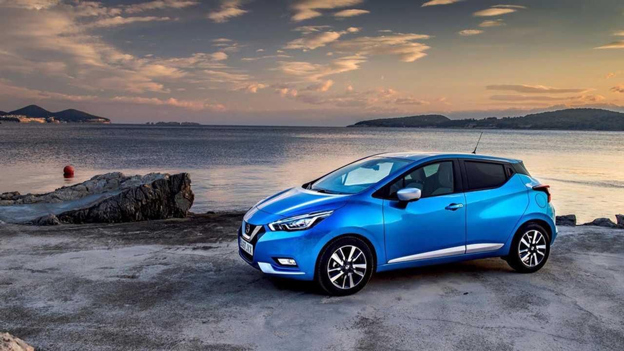 Nissan Micra Power Blue