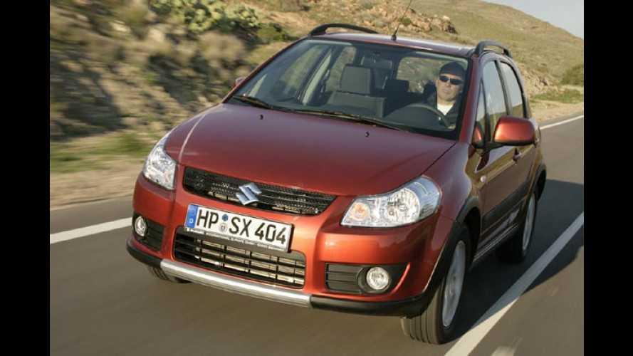Suzuki SX4: Neuer Mini-SUV mit italienischer Diesel-Power