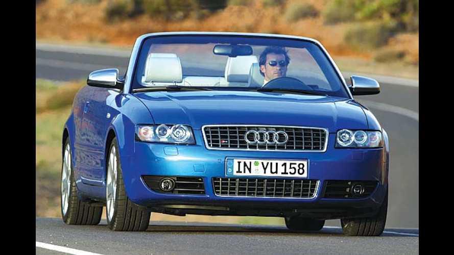 Audi S4 Cabrio: 344 PS und 410 Newtonmeter für 60.000 Euro