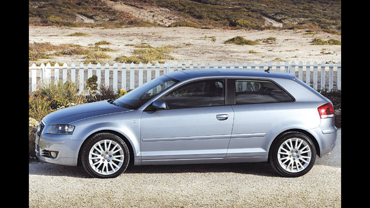 Platz 27 : Audi A3 2.0 TFSI Attraction