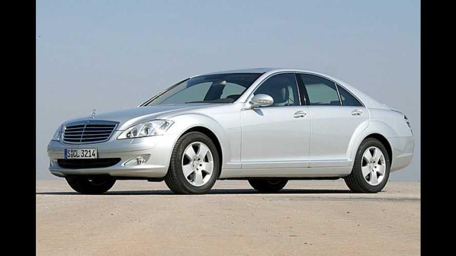 Das alles und noch viel mehr: Die neue Mercedes S-Klasse