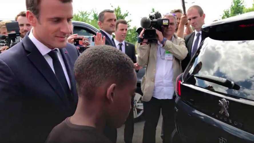 """Macron - Une 5008 qui n'est """"pas un Transformers, mais presque!"""""""